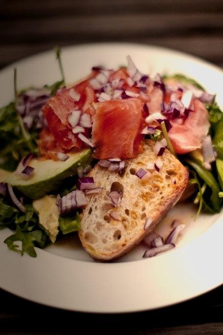 Salad, Bread