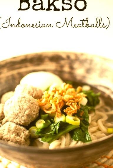 Bakso (Indonesian Meatballs)