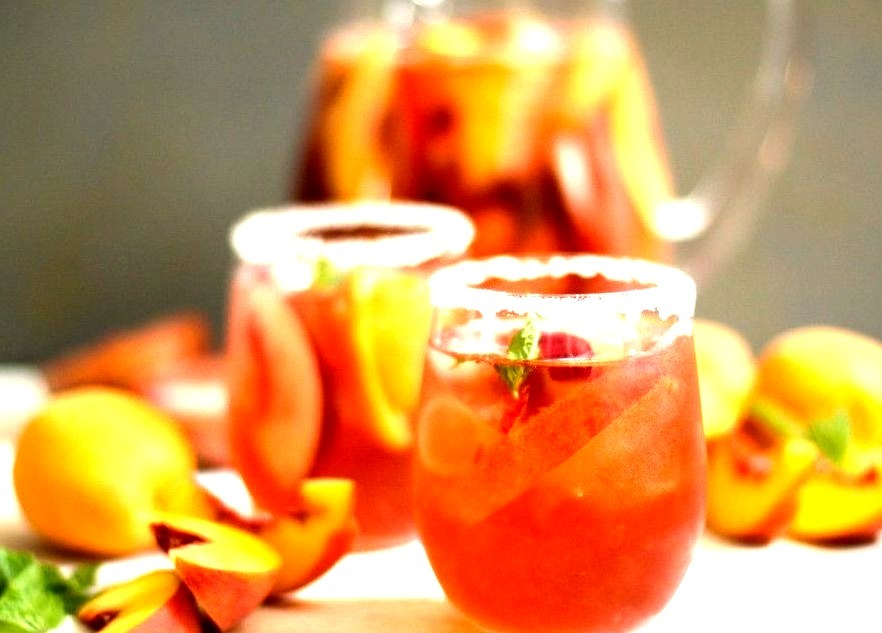 (Stone Fruit Sangria)