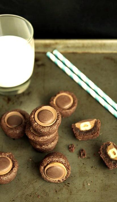 Toffifee Brownie Bites LeelaLicious