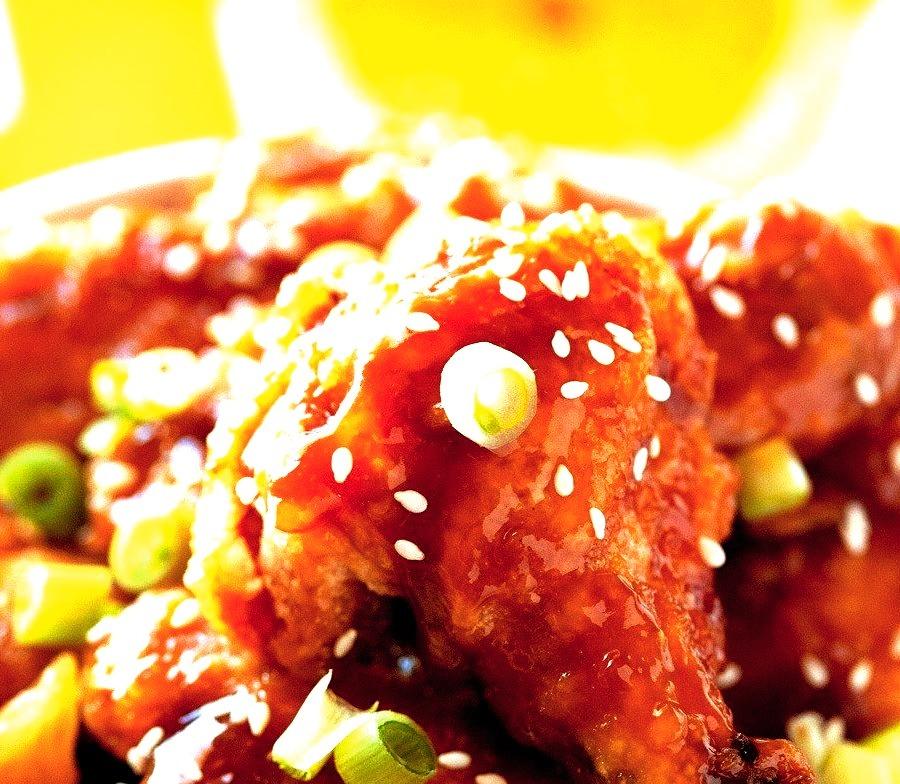 Orange Chicken Wings